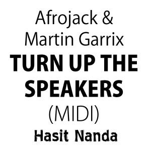 Afrojack & Martin Garrix - Turn Up The Speakers (MIDI file)