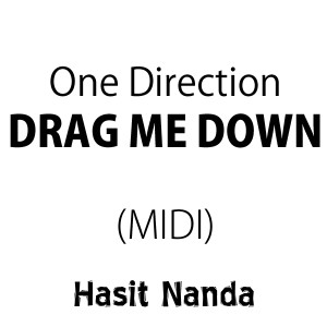 One Direction - Drag Me Down (MIDI)