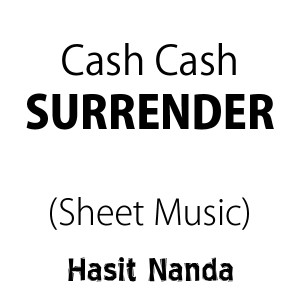 Cash Cash - Surrender (Sheet Music)