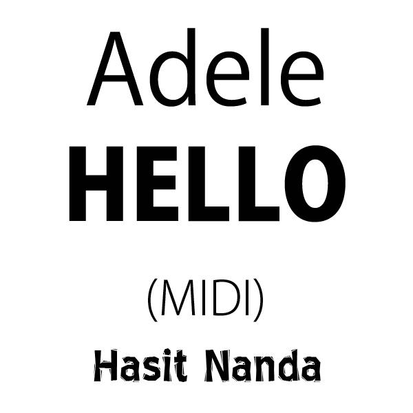 Adele - Hello (MIDI)