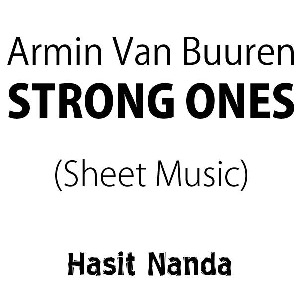 Armin van Buuren feat. Cimo Fränkel - Strong Ones (Sheet Music)